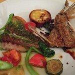 イタリア料理 リストランテ フィッシュボーン - 桜鯛のソテーと野菜添え