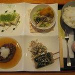 MAIKO茶ブティック - 和風プレートランチ @1000