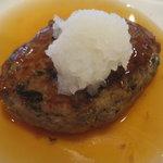 MAIKO茶ブティック - 和風豆腐ハンバーグ