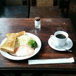 喫茶レモン - 料理写真:モーニング 600円
