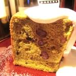 ザ・シティ・ベーカリー - 抹茶のシフォンケーキ