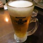 大阪とらふぐの会 はなれ - ビール
