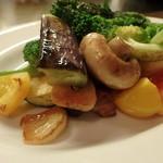 サンク - 野菜の鉄板焼き