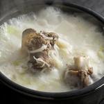 牛骨コムタンスープ