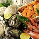 鉄板料理 八天 - 新鮮魚貝は元寿司職人のシェフが確かな目で厳選!