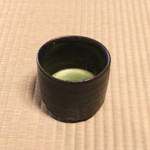 瓢亭 - お薄 (2015/01)