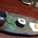 魚料理 ぎん - 先付の3種