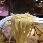 麺屋 ごとう - ストレートな太麺