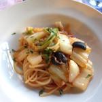 ヴィッラ デルピーノ - 白菜の甘み、こんなにパスタと合うなんて思いませんでした!