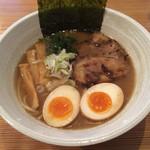 34782732 - ラーメン+煮玉子