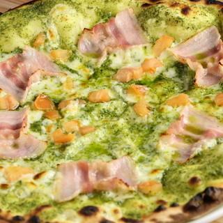 30種類以上あるこだわりのローマピザ