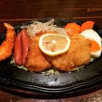 ジョンブル - 白身魚のフライスペシャルランチ♪