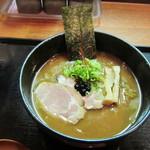 札幌鮭ラーメン麺匠 赤松 - 黒味噌ラーメン