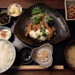 桜座蔵 - チキン南蛮らんち750円