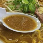 イオリ - 濃厚味噌スープ(伊勢丹新宿店 大北海道展)