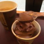 34788775 - チョコソフトクリーム