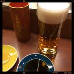 秋吉 - 生ビール 390円