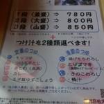 34790755 - せいろ三段盛りの大盛り蕎麦が850円!段を追加しても一段辺り100円