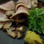 34791060 - さかえ庵の京鴨の蒸しロース(13.11)