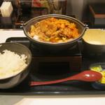 吉野家 - 2013年冬限定「牛チゲ鍋膳」です。