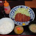 番番亭 - 上とんかつ定食 1000円(税込)