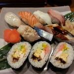 ゑまひ寿し - 料理写真:握り定食