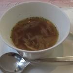 Groult - 【パスタランチ】オニオンスープ