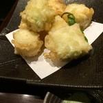あじめん浦和店 - 九条ネギ天ぷら