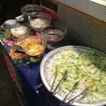 アムリタ食堂 - サラダバー