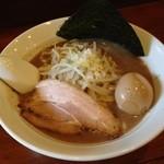 麺屋 御神本 - 味玉ラーメン並(780円)