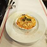 ポ・ブイユ - ホタテとずわい蟹のグラタン
