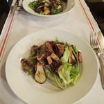 ポ・ブイユ - セップ茸のサラダ