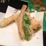 味処 まつ田 - 天ぷらも