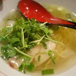 麺屋じぇにー - 鶏魚塩らーめん(790円)
