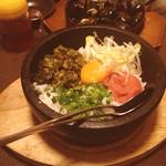 えこひいき - 石焼き高菜焼き飯