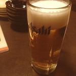 えこひいき - 生ビール