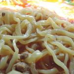 多福楼 - 坦々麺の麺