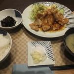 バラモン食堂 - 生姜焼き定食