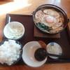 名古屋 - 料理写真:味噌煮込みうどん(1250円)、小ライス(150円)