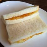 スポーツバー POLOPOLO - 料理写真:お代わり3回めは、マーマレードサンド。これにて腹パン!