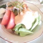 レストラン冨士屋 - コンビネーションサラダ