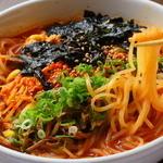 あぐら - ユッケジャン麺