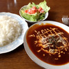 レストランサバ - 料理写真:煮込みハンバーグセット(コーヒー付)