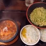 34809514 - トマトつけ麺&ライス小