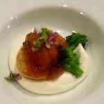 34809970 - 雲丹・ブロッコリーのムース これ!めちゃくちゃ美味しかった!