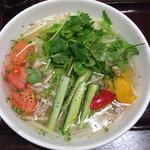 ニャーベトナム - パクチーたっぷりのベジタブルフォー