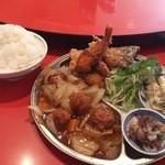 中国料理 ちゅん - 定食は食べきれないほど!