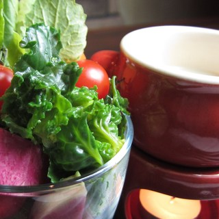 毎日新鮮なお野菜と珍しい食材を!