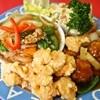 北京飯店 - 料理写真:B定食(八宝菜、酢豚、エビ天)