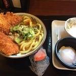 丸亀製麺 - Wカツカレーうどん